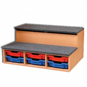 Keystage 1 - Twin Step - 3 Trays Wide